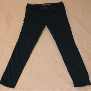 Navy AE Jeggings